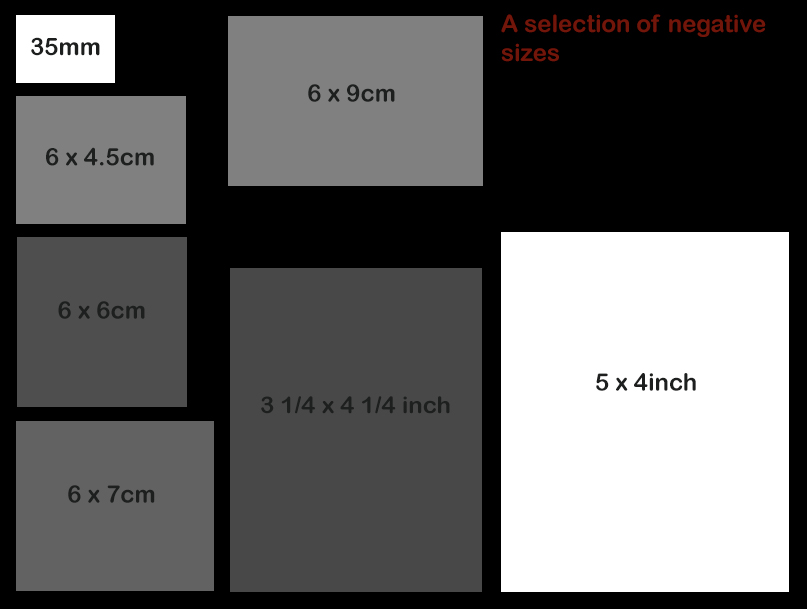 Selection of neg sizes