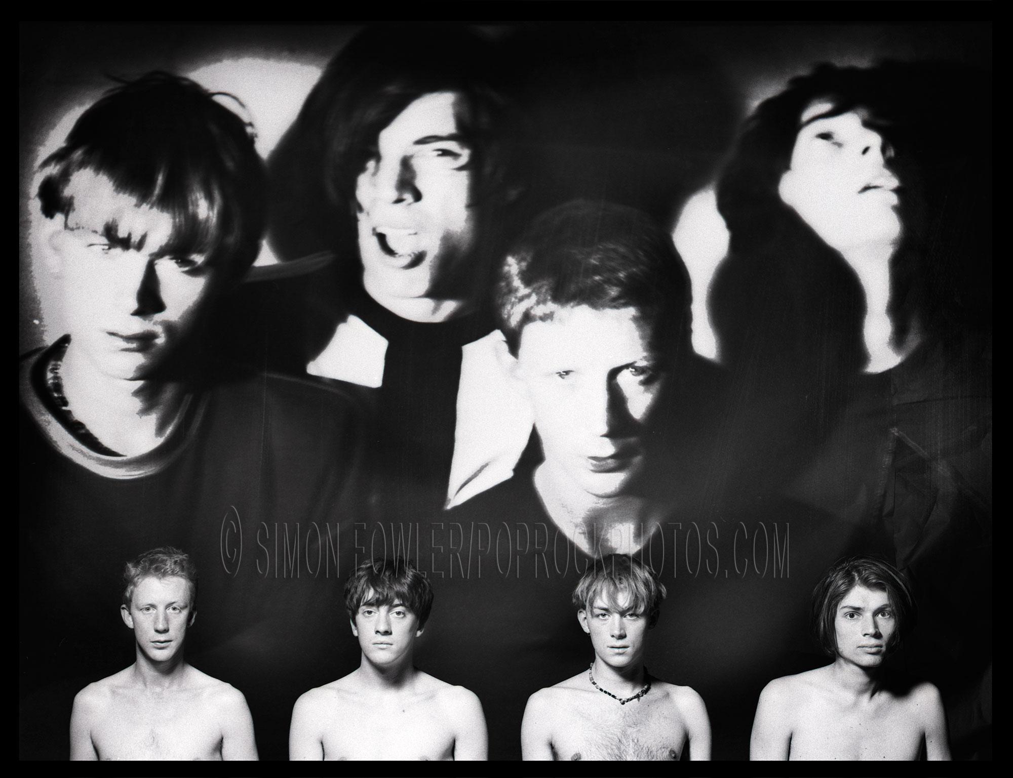 blur 1 damon albarn graham coxon alex james dave rowntree pop rock